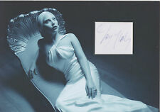 LADY GAGA Signed 12x8 Photo Display POKER FACE & AMERICAN HORROR STORY COA