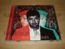 Blurred Lines by Robin Thicke (CD, 2013, Universal) [Pharrell W] ARGENTINA PROMO