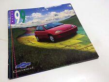 1999 Chevrolet Metro Brochure