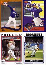 Topps Baseball 2002 2003 2004 2005 Finish your Set Pick 50