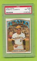 1972 Topps - Roberto Clemente (#309)  Pittsburgh Pirates   PSA 8  NM-MT