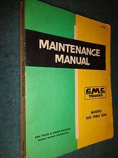 1957 GMC SHOP MANUAL / ORIGINAL SHOP BOOK / MODELS 100-500 PICKUP PANEL & MORE!