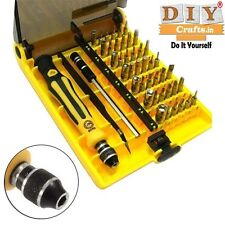 45in1 Precision Torx Screwdriver Tweezer Cell Phone Repair Mobile Tool DIY KitsF