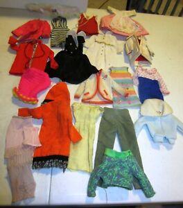 Vintage barbie clothes TLC lot