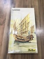 Heller France 1.60 Jonque #80832 Ship Model Kit 1:60 Scale Unbuilt