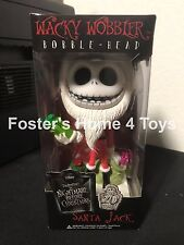 FUNKO SANTA JACK SKELLINGTON NIGHTMARE BEFORE CHRISTMAS WACKY WOBBLER RARE NEW
