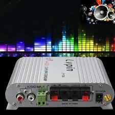 200W 12V Mini Hi-Fi Amplificateur Audio Stéréo AMP Fr Auto Moto Voiture Radi ED