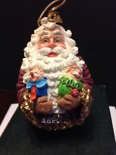 Exclusive By Roman American Santas Through The Decades 1860 Roly Poly Ornament