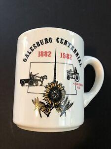 VTG Galesburg, ND Centennial Mug 1882-1982