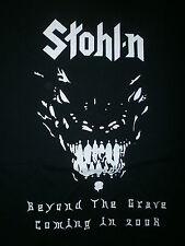 STOHL-N CONCERT SHIRT Chuck Stohl Power Metal Guitar Beyong Grave DAMIEN Stolen