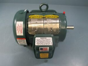 Baldor ECP3582T 1 HP 1160 RPM 460 Volts Electric Motor - New