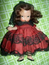 Rare Nancy Ann Judy Ann Usa #30 Spanish, Around The World, all bisque j'td. doll