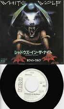 "White Wolf - Shadows in the Night /Metal Thunders (1985)  JAPAN 7"" PROMO"