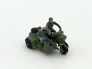 Micro Machines WWII German BMW R75 Motorcycle with Sidecar & German Soldiers