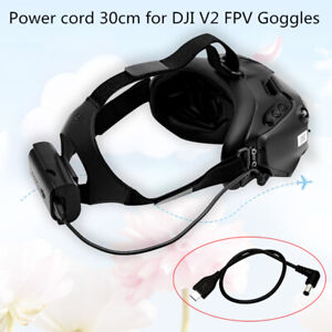 30 CM Power Supply Line Charging Cable For DJI FPV Goggles