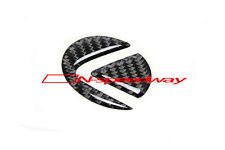 Carbon Fiber Steering Wheel Emblem Insert Decal For Lexus IS GS ES RX (Small)