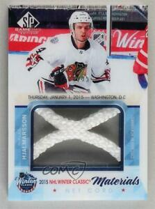 2015-16 SP Game-Used Winter Classic Net Cord /35 Niklas Hjalmarsson #WCNC-NH