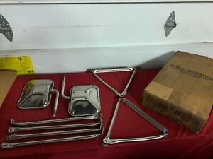 NOS LoMAR TRUCK MIRRORS TOWING / CAMPER CHEVROLET / DODGE / FORD 459858