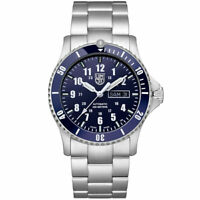Luminox Men's Watch Sport Timer Automatic Blue Dial Silver Bracelet 0924