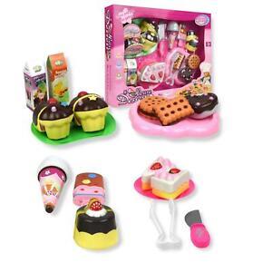 Vinsani 20 PC House Dessert Pretend Play Kids Childrens  Cakes Food Play Set