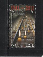 MOLDAVIA. Año: 2011. Tema: 70º ANIV. DE LA DEPORTACION.