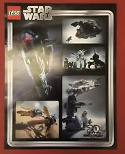 Star Wars LEGO 20 Years Promotional Poster