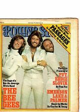 the bee gees emerson lake & palmer roling stone 1977