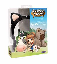 NEW Rare Natsume Harvest Moon Black Cat Headphone for iPhone, iPad and Android