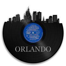 Orlando Vinyl Wall Art City Skyline Travel Souvenir Home Room Decor Unique Gift