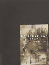ANDREJ Andrei TARKOVSKI Ivan's Childhood POSTCARD photo card DE JEUGD VAN IVAN