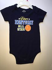 Kentucky Wildcats 12 month baby romper UK Basketball All-Star one-piece EUC