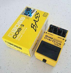 Boss Odb-3 Bass Overdrive Effects Pedal w/box