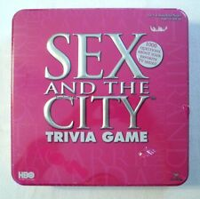 Sex and the City HBO Trivia Game Collector Tin Edition New