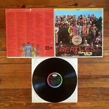 The Beatles: Sgt. Pepper's Lonely Hearts Club Band LP Vinyl US Capitol '68 VG/VG