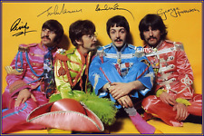 4x6 SIGNED AUTOGRAPH PHOTO REPRINT of The Beatles  #TP