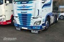 TO FIT DAF XF 106 2013+ Steel Low Light Bar spoiler Under Anti-Chocs lobar + 11 DEL