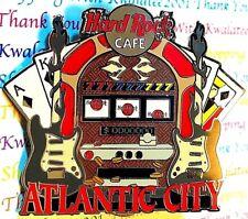 Hard Rock Cafe Atlantic City Tee Shirt Pin Slot Machine 2005 AC LE NEW #28312
