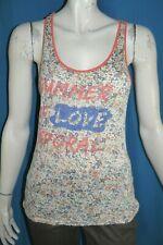 KAPORAL Taille S - 36 Superbe haut top tee shirt débardeur femme lin mélangé