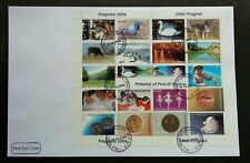 Kosovo Philately Program 2006 Children Bird Coin Dance Dog Swan Cow (FDC) *rare