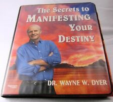 Wayne Dyer Secrets To Manifesting Your Destiny set of 6 Cassette Tapes Used
