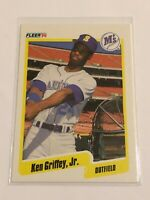 1990 Fleer Baseball Base Card - Ken Griffey Jr - Seattle Mariners
