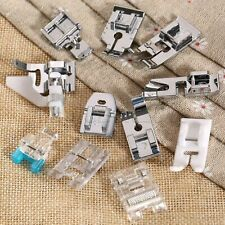 11x Domestic Sewing Machine Stitch Presser Feet Kit For Butterfly Brother Singer