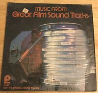 MUSIC FROM GREAT FILM SOUNDTRACKS - SPC-3652,  VINYL RECORD LP