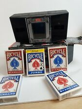 Bicycle Automatic Card Shuffler   5 new pack of bicycle  come with.