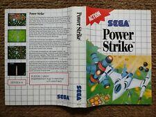 Sega Master System Power Strike originalen Kunstwerken