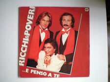 "RICCHI E POVERI ""E PENSO A TE"" LP DISCO VINILE 33 GIRI"