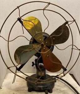 Early Patd.1901-09 Peerless Electric Fan