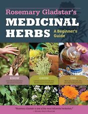 Rosemary Gladstar's Medicinal Herbs Brand New Paperback Edition Book WT67229
