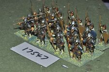 25mm medieval / norman - infantry 24 figs - inf (17547)