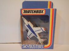 Vintage Matchbox Skybusters Harrier Jump Jet SB-27